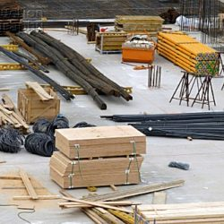 Construction Site Raw Materials Theft